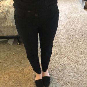 Black Eddie Bauer Slacks. Size 4.